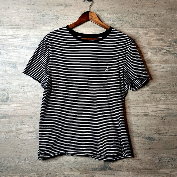 Nautica Striped T Shirt. Perfect Condition! Soft!